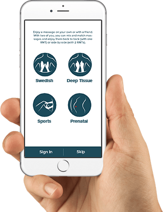 massago app - mobile rmt massage phone