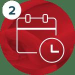 icon schedule the massage
