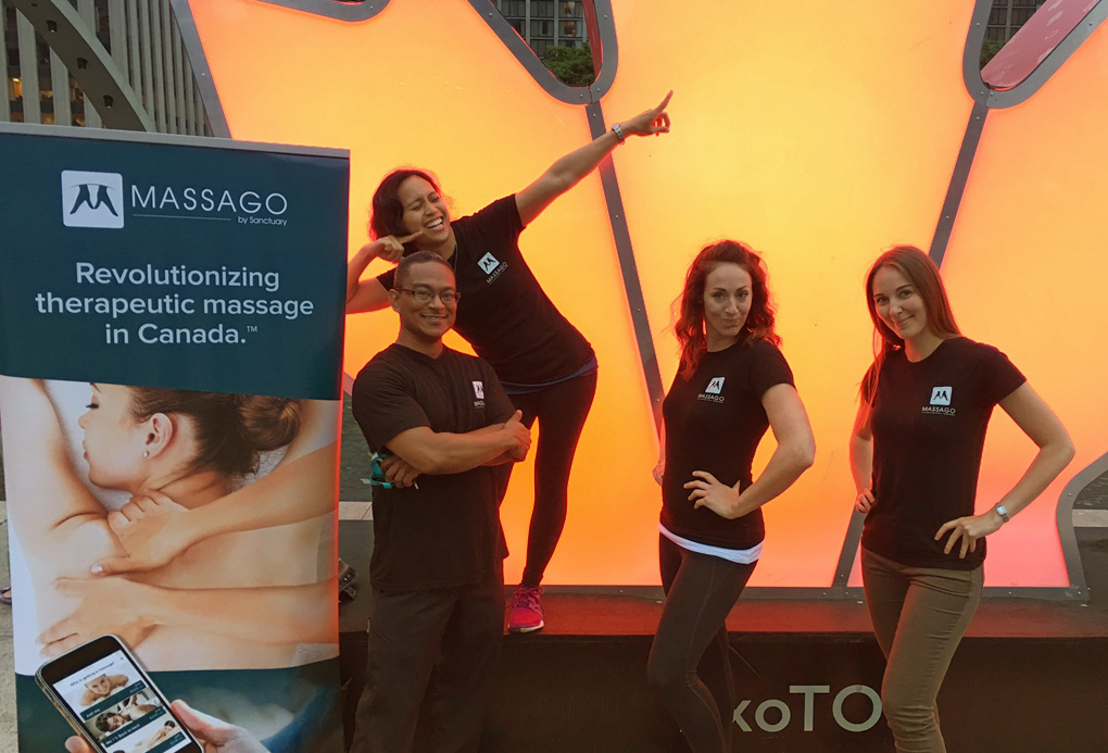massago therapists toronto