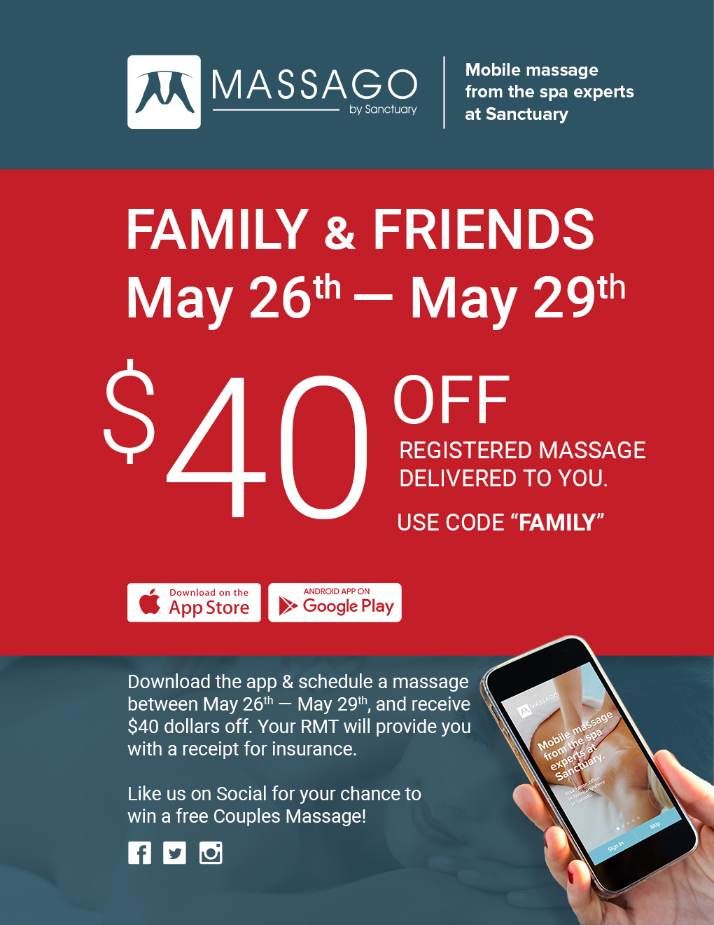Family & Friends Exclusive - $40 off