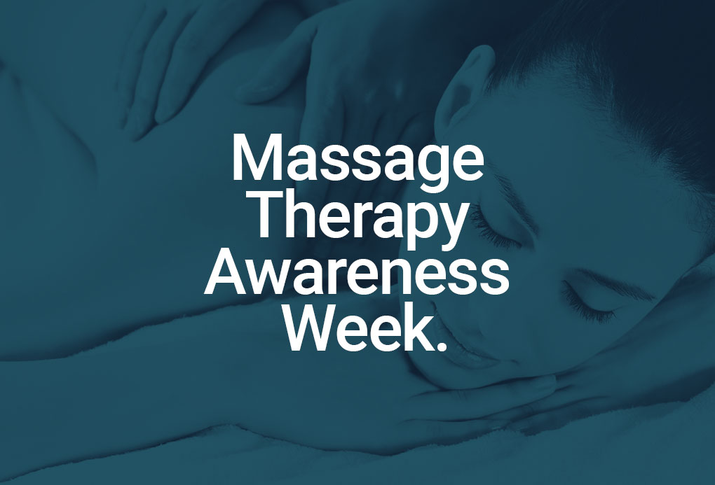 massage therapy awareness week