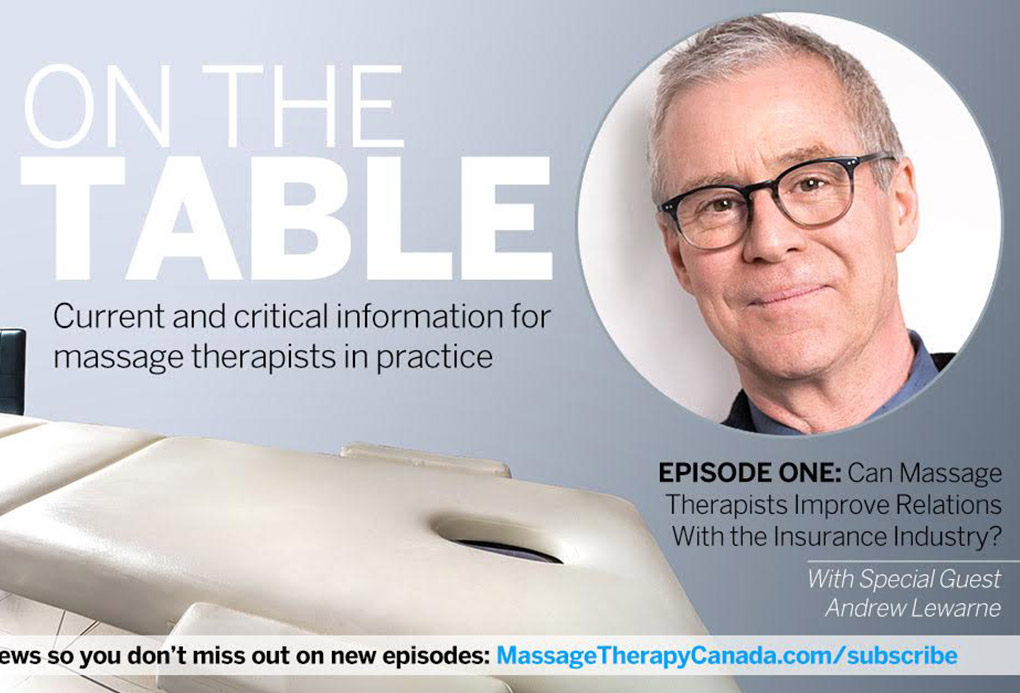 on the table podcast - massage - massago