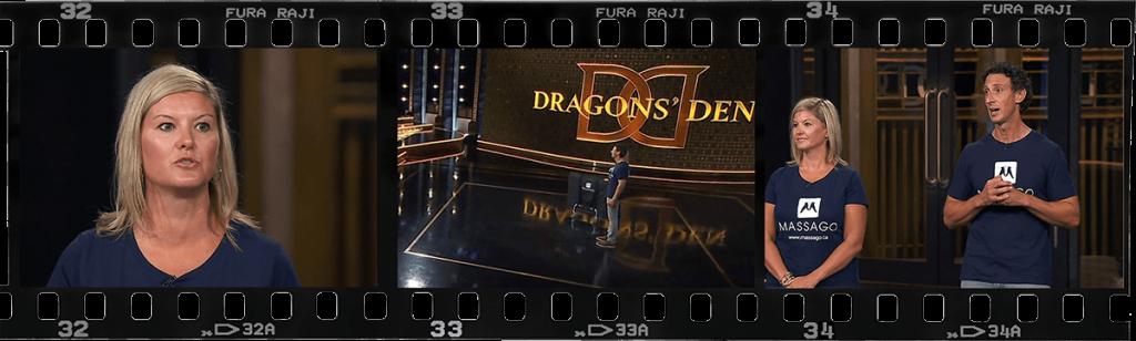 dragons den massago